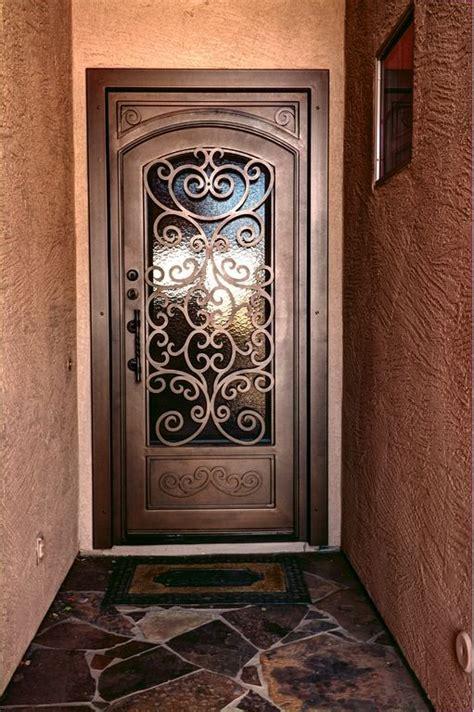 puertas de herreria sencillas  bonitas