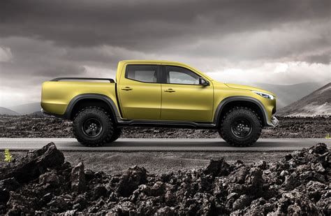 mercedes pickup mercedes benz pickup concept revealed will become x class