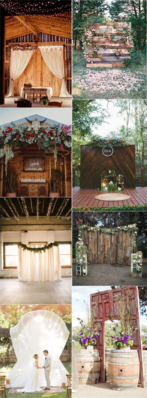 20 Best of Wedding Backdrop Ideas from Pinterest (With