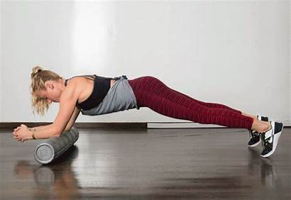 Foam Roller Plank Exercises Strength Sawing Greatist