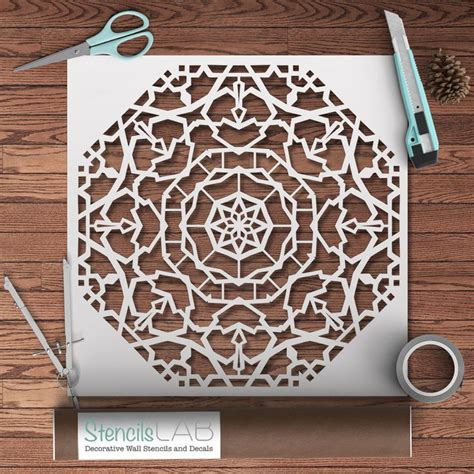 decorative stencils for furniture 1000 ideas about mandala stencils on stenciling stencils for painting and damask