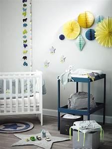 Deco Chambre Bebe Bleu : deco chambre bebe bleu petrole visuel 8 ~ Teatrodelosmanantiales.com Idées de Décoration