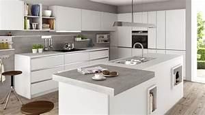 Küche Beton Arbeitsplatte : sch ller k che kristallgrau beton naturgrau nachbildung offene k che pinterest sch ller ~ Sanjose-hotels-ca.com Haus und Dekorationen