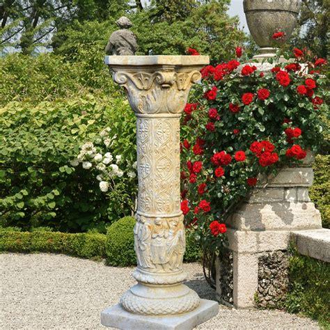 Deko Stein Säule Für Den Garten  Constanzia • Gartentraumde