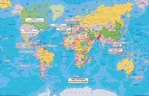 Carte Du Monde Metallique : infos sur bora bora carte du monde arts et voyages ~ Teatrodelosmanantiales.com Idées de Décoration