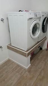 Waschmaschine Plus Trockner : podest f r waschmaschine und trockner im hwr ~ Michelbontemps.com Haus und Dekorationen