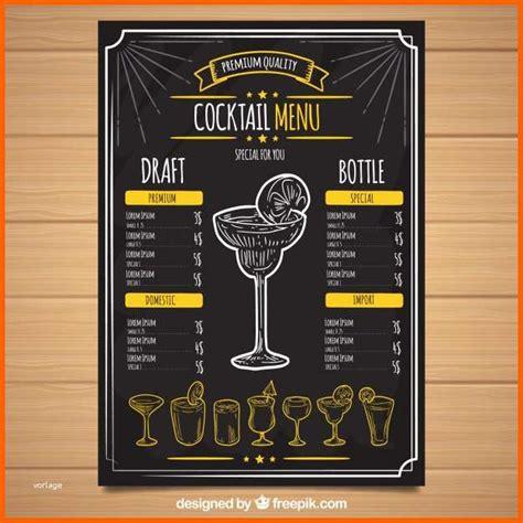 Wer cocktails selber machen möchte, sollte allerdings auf die balance der aromen achten. Modisch Schwarze Cocktailkarte Vorlage   Kostenlos Vorlagen