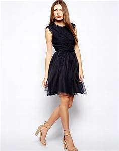 Top Occasion : lyst ted baker occasion dress with lace top and full skirt in blue ~ Gottalentnigeria.com Avis de Voitures
