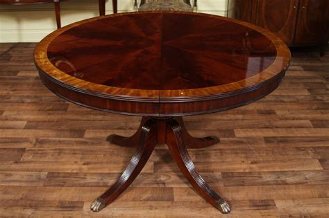 mahogany dining table mahogany dining table with leaf four leg reeded 4900