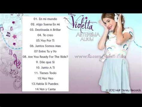 Testi Canzoni Di Violetta by Violetta Anteprima Di Tutte Le Canzoni