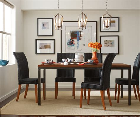 Lighting Dining Room Table by Gather Pendants Over Dining Room Table Contemporary