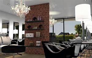Style Industriel Salon : salon de coiffure style industriel ~ Teatrodelosmanantiales.com Idées de Décoration