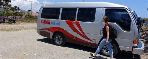 arriving in timor leste