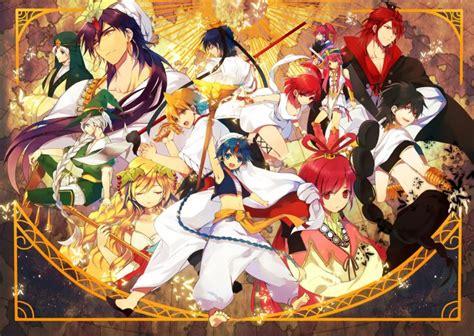 Magi Anime Wallpaper - fonds d 233 cran gt fonds d 233 cran magi the labyrinth of