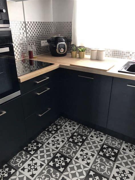 zoom sur ma cuisine industrielle noire cuisine