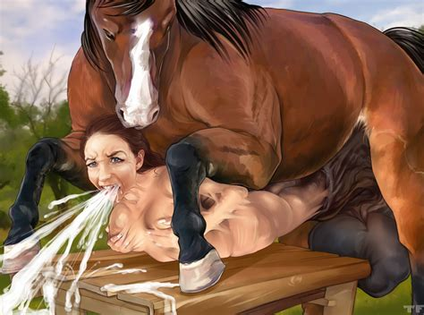 Transformation Into Horse Dick Cum Version 02 By Titflaviy Hentai Foundry