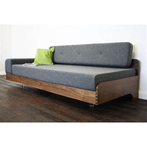 Contemporary Wooden Sofa by Float Sofa Johnny Moustache Vintage And Contemporary