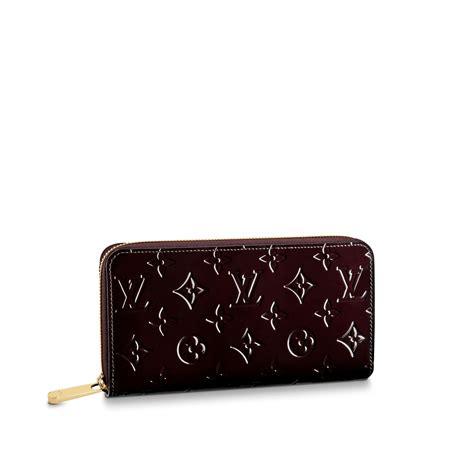 zippy wallet monogram vernis leather small leather goods louis vuitton