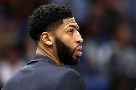 anthony davis trade  star  tells pelicans