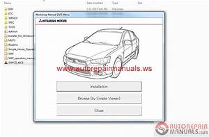 Free Auto Repair Manual   Mitsubishi Lancer 2015 And