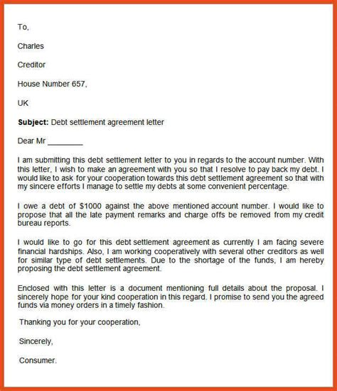 financial hardship letter how to write a financial hardship letter image collections 11387