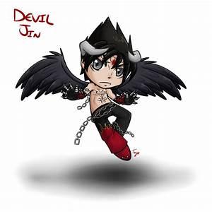 Devil Jin by Raetastical on DeviantArt
