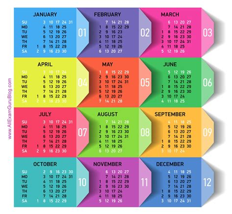 printable calendar view hd image