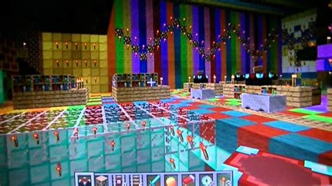 minecraft christmas decorations madness youtube