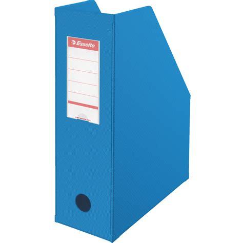 module de classement bureau esselte lot de 10 porte revues dos de 10 cm bleu porte