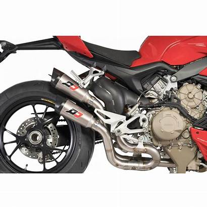 V4 Streetfighter Qd Ducati Exhaust Gunshot Twin