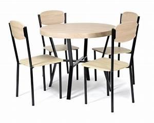 Table 4 Chaises Casa Noirchene