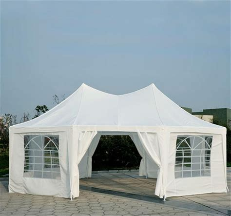 big canopy tent outsunny large octagon 8 wall gazebo canopy tent