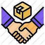 Partner Icon Key Partners Handover Client Negotiate