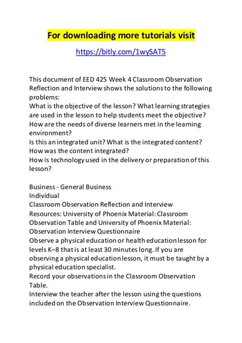 preschool observation notes just b cause 646 | eed 425 week 4 classroom observation reflection and interview 1 638