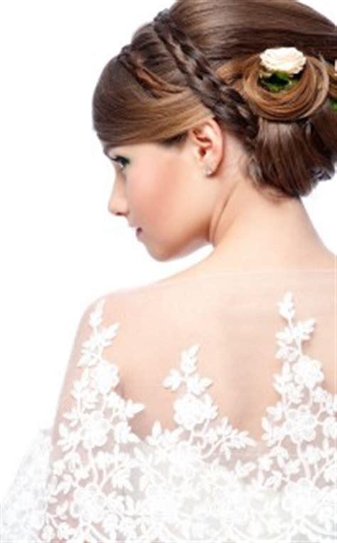 hochsteckfrisur mit haarband flechtfrisuren romantisches styling f 252 r den hochzeitstag hochzeit