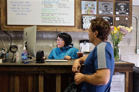 gyms hiring front desk front desk hiring whitevan
