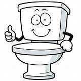 Toilet Clip Illustrations Vector Cartoons Graphics sketch template