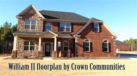 william ii floorplan  dr hortoncrown communities  columbia lexington sc youtube