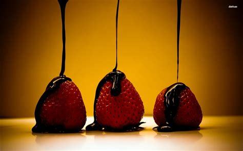 chocolate covered strawberries wallpaper photography