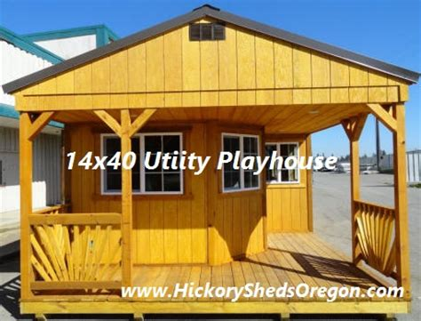 Hickory Sheds Maine by 15 X 08 X 19m Zinc Garden Shed Storage Storage