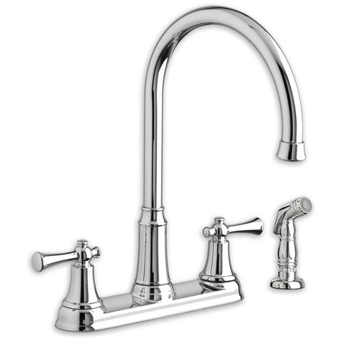 Kitchen Faucet Installation by 2 Handle Kitchen Faucet Installation Wow
