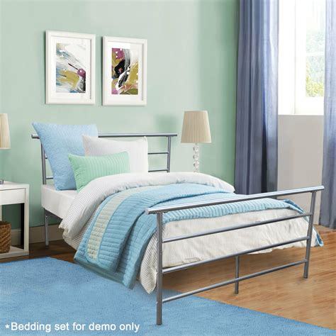 Headboard And Frame by Size Silver Headboard Footboard Furniture Bedroom