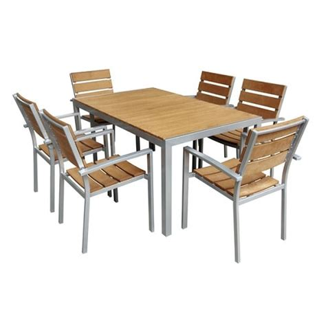 faux wood patio furniture 10 gorgeous and durable faux wood patio furniture 800
