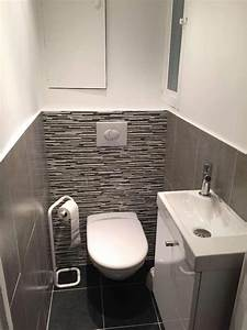 beautiful idee carrelage wc pictures amazing house With carrelage toilette