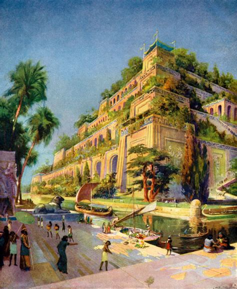 The Actual Hanging Gardens Of Babylon