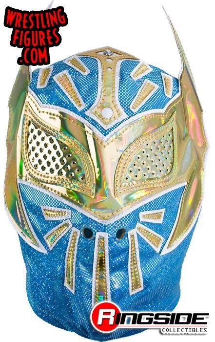 sin  blue adult size replica mask ringside