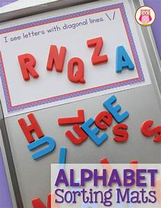 sorting magnetic letters with sorting mats free printable With magnetic letter printables