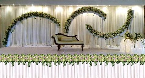 gorgeous stage decor ideas    opt