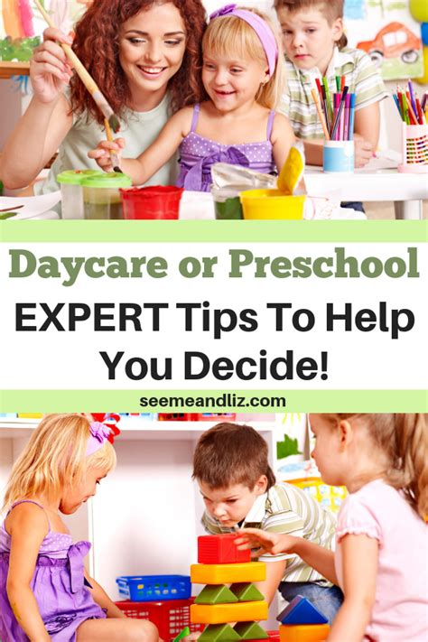 daycare vs preschool is one better than the other 775 | Daycare or Preschool expert tips