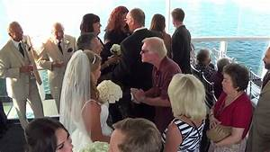 electra cruises wedding on athena yacht in newport beach With affordable wedding videographer